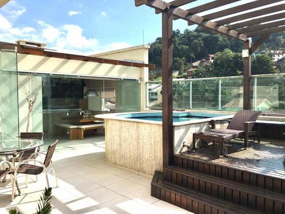 Cobertura Com 3 Dormitórios À Venda, 254 M² Por R$ 1.380.000 - Vila Nova - Blumenau/sc - Co0023