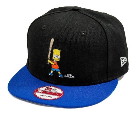 Boné Bart Simpson Baseball New Era