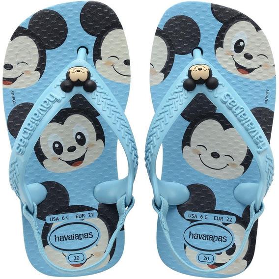 Chinelo Infantil Havaianas Baby Disney Mickey Minnie