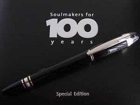 Caneta Montblanc Soulmakers For 100 Years Special Edition