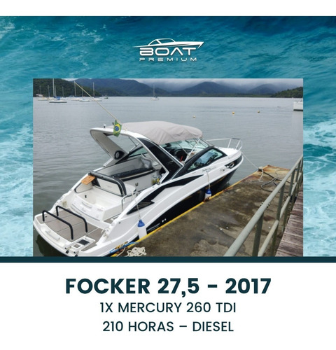 Imagem 1 de 9 de Focker 27,5, 2017, 1x Mercury 260 Tdi - Triton - Phantom