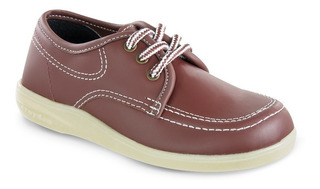 Zapato Croydon Bachiller Rojo Para Niños