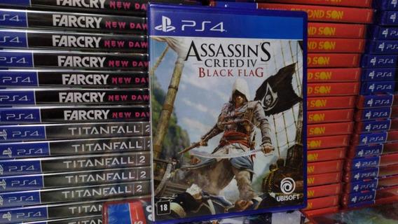 Assassins Creed Iv Black Flag Ps4 Mídia Física Português