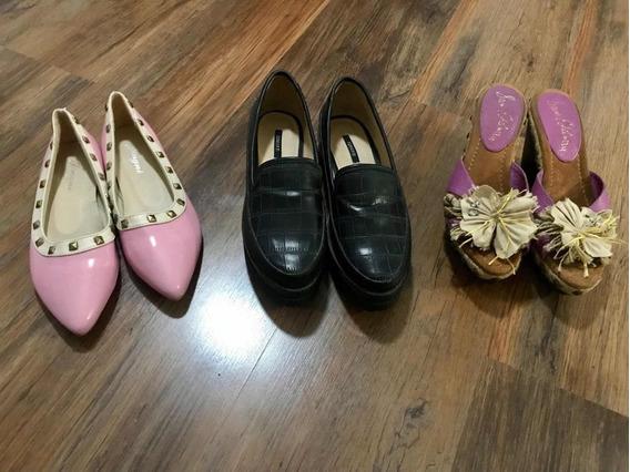 Lote De Zapatos Para Dama