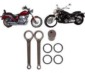Biela Para Virago 250 Yamaha / Vblade 250 Kit 2 Bielas