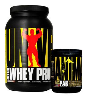 Ultra Whey Pro 2 Lbs + Animal Pak Powder Universal Nutrition