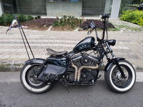 Harley Davidson Forty Eight Modificada Estilo Bobber