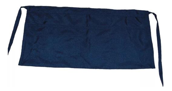 Medio Mandil Mesero Polyester Negro 10 Piezas