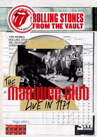 Rolling Stones From The Vault Marquee Club 1971 Dvd Nuevo