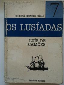 Livro-os Lusíadas:luís De Camôes:7:coleção Grandes Obras
