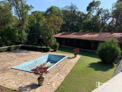 Imagem 1 de 30 de Chácara Com 8 Dormitórios À Venda, 3391 M² Por R$ 1.800.000,00 - Jardim Indaiá - Embu Das Artes/sp - Ch0077