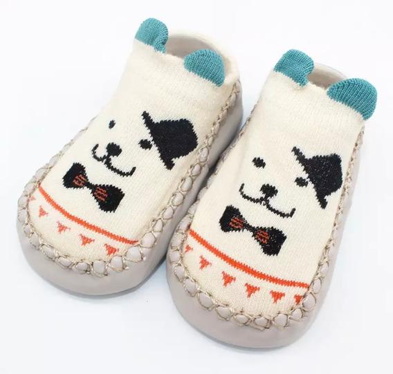 Pantuflas Zapato Calcetines Antiderrape Antideslizante Bebé