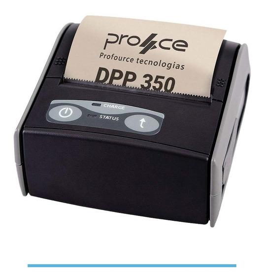 Mini Impressora Portatil Bluetooth Termica Datecs Dpp 350