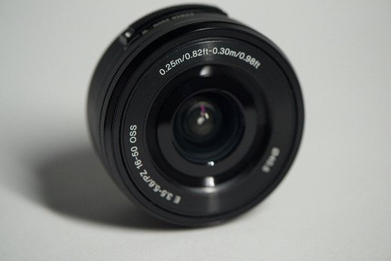 Sony E Pz 16-50mm F/3.5-5.6 Oss E-mount (selp1650) Zero