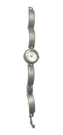 Reloj Mujer Plateado Mate