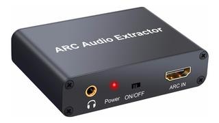 Conversor Extrae Audio Desde Hdmi Arc A Optico Coaxial Y Rca