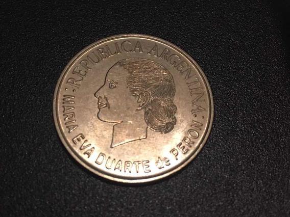 Moneda Argentina Evita 2 Pesos Colección. 1952-2002