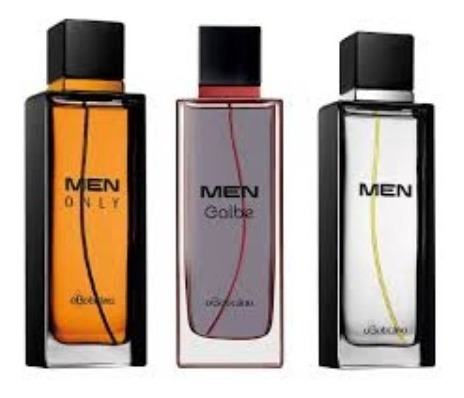 Trio Men, Men Galbe E Men Only De O Boticário