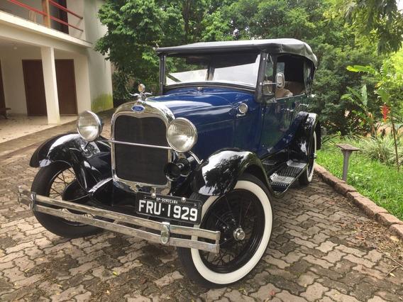 Ford Phaeton 29 Carro De Coleção