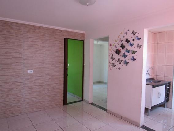 Apartamento 2 Cômodos + Garagem - Cidade Tiradentes
