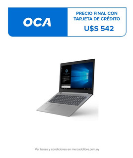 Notebook Lenovo Intel I3 8ª Gen 1 Tb Disco 8 Ram 1 Año Gtia.