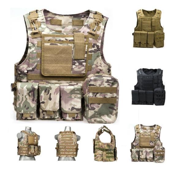 Chaleco Táctico Militar Policial Multiusos Mod Squad - M62