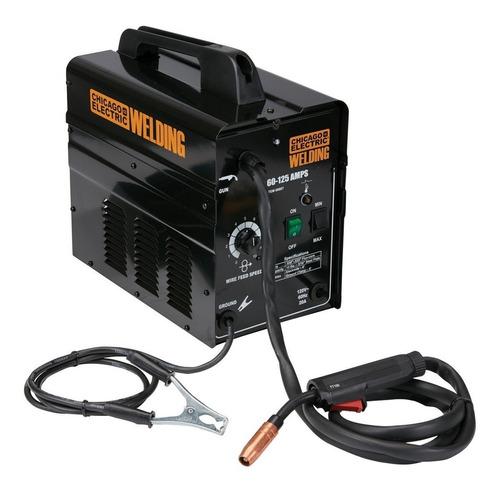 Soldadora De Micro Alambre 125 Amp 110 Volts Premium