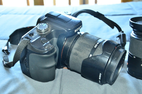 Camara Sony Profesional A100 3 Lentes-body