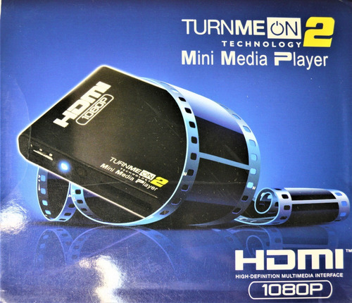 Turnme On 2 Mini Media Player Hdmi 1080p Interface