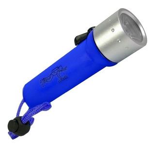 Lanterna De Mergulho Profissional Led Cree Em Aluminio Zoom