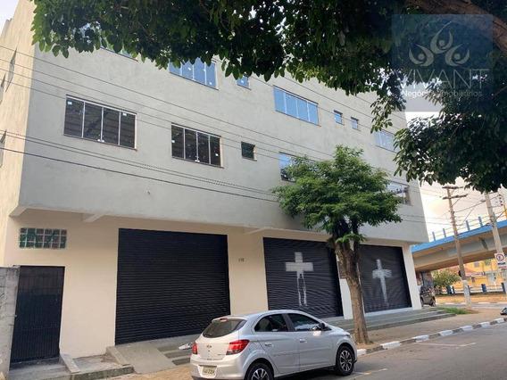 Salão Para Alugar, 480 M² Por R$ 5.500/mês - Centro - Poá/sp - Sl0048
