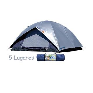 Barraca P/ Camping 5 Pessoas C/ Sobre Teto Mor 240x240x130