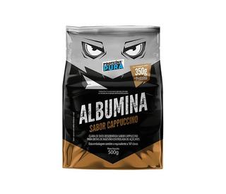 Albumina 500g Clara De Ovo Em Pó Cappuccino Proteína Pura