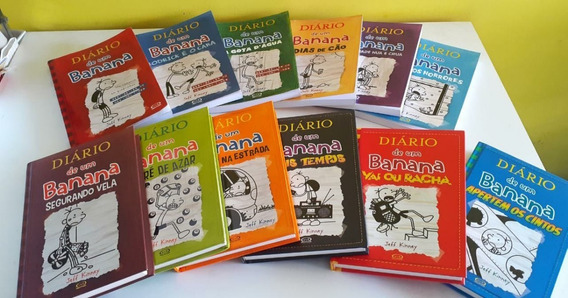 Coleção Diário De Um Banana- 12 Livros