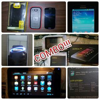 Combo Tableta Daewoo + Samsung S3 Neo Duos