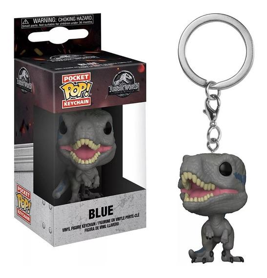 Funko Pop Blue Llavero Jurassic World Playking