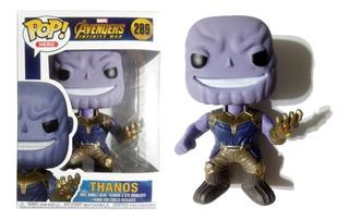 Muñeco Thanos Símil Funko Pop! #289 Articulado 13 Cm