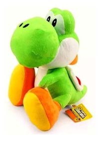 Pelúcia Yoshi 18cm - Super Mario Bros - Pronta Entrega