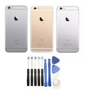 Carcaça Traseira iPhone 6s 4.7 Botoes + Kit De Chaves