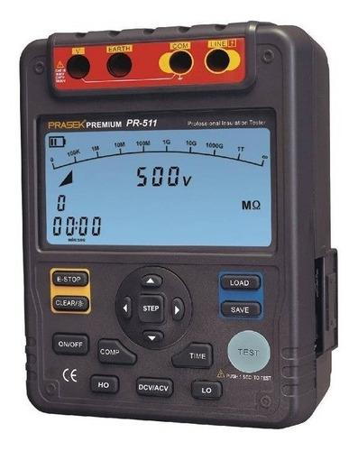 Megómetro Digital Prasek Pr-511 (incluye Certificación)