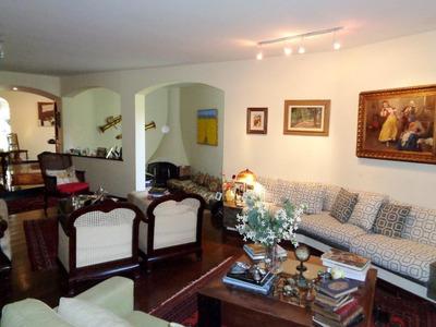 Casa Em Pacaembu, São Paulo/sp De 345m² 4 Quartos À Venda Por R$ 2.800.000,00 - Ca225955