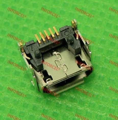 Conector Carga Original Caixa Som Jbl Go Micro Usb 5 Pinos