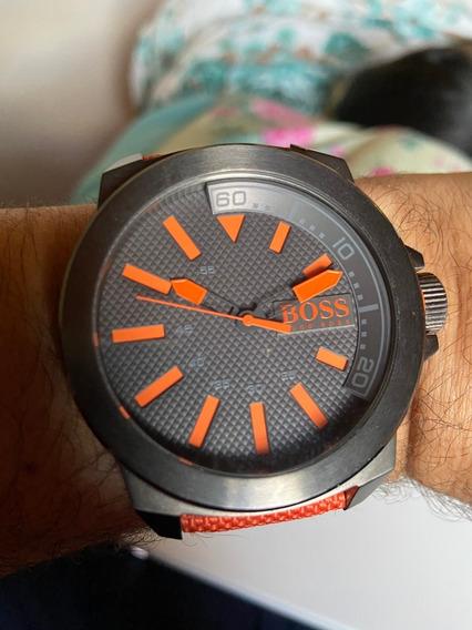 Lindo Relógio Hugo Boss Orange Em Perfeito Estado Por R$ 489