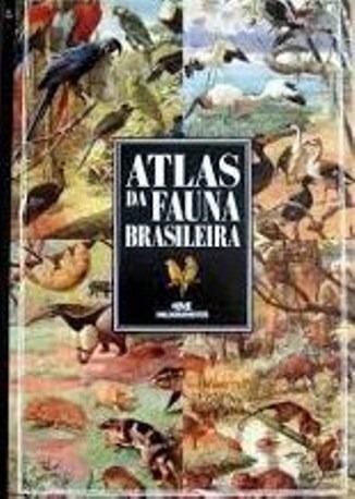 Atlas Da Fauna Brasileira - Como Novo!!!