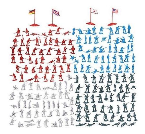 Set De Figuras Militares De 200 Piezas - Soldados Del Ejerci