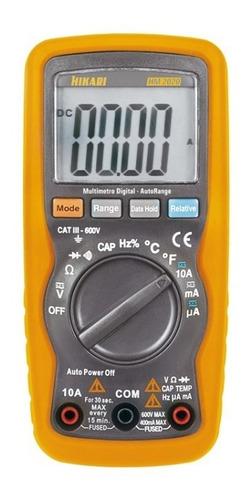 Multímetro Digital Hikari  Hm-2020 Display Lcd Frequência