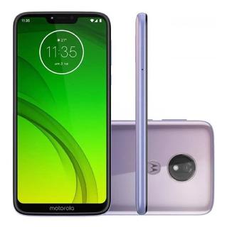 Smartphone Motorola G7 Power Lilás Dual Chip 64gb Câmera 12mp - Xt1955