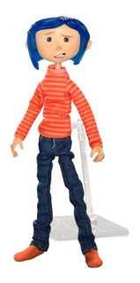 Coraline (striped Shirt) Articulated Figura N.e.c.a. Neca