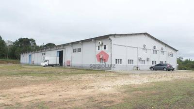 Barracão Comercial À Venda, Zona Rural, Tijucas Do Sul. - Codigo: Ba0012 - Ba0012