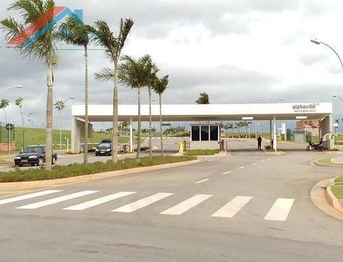 Terreno A Venda No Bairro Residencial Alphaville Nova - Te 030-1